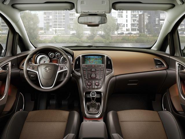 Opel Astra рестайлинг 2012, 2013, 2014, 2015, седан, 4 ...