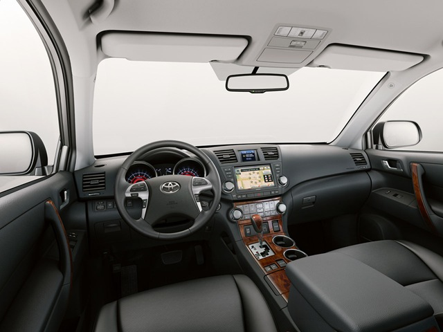 Тойота хайлендер 2012 фото